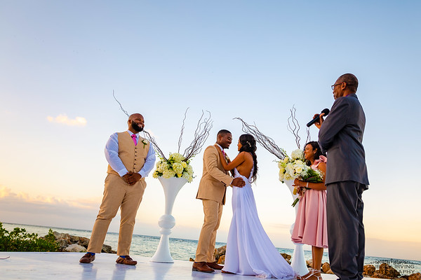 Jamaica Beach Wedding- Pineapple Beach