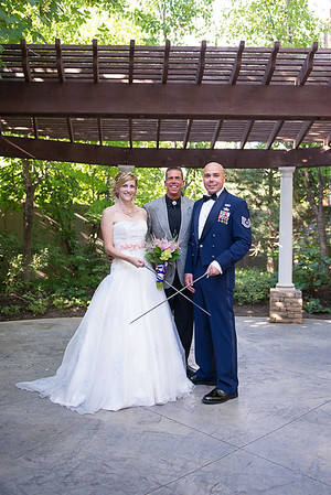 Love our military bride and grooms