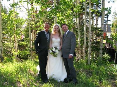Canyons Resort- Red Pine Lodge summer wedding