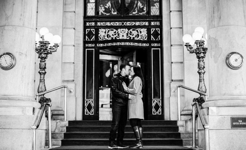 The Plaza Hotel, NYC Engagement