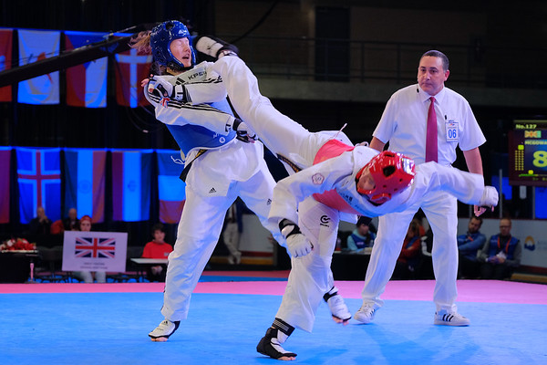 Rebe Mcgowan - 2016 WTF World Taekwondo Junior Championships