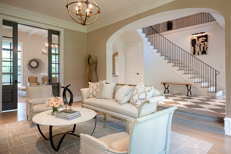 White and Bright Living Room