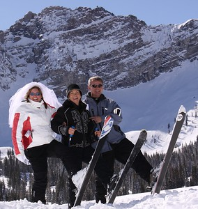 Wedding on Skis at Alta, UTah