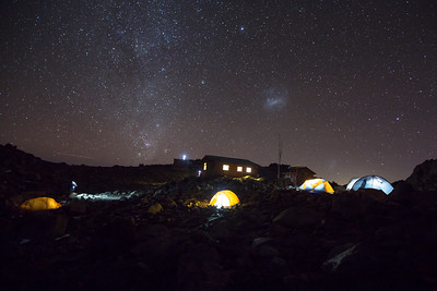 Mt Kenya's High Camp