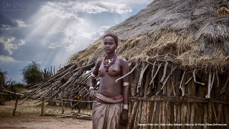 Hammar Tribal Young Girl-Tales Of A Forgotten Land