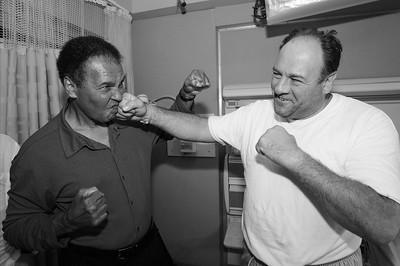 Muhammad Ali, James Gandolfini, NY