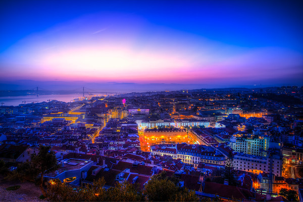 Night Time in Lisbon