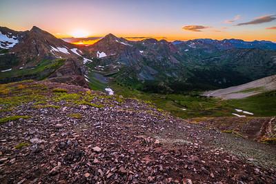 Scarp Ridge Sunset