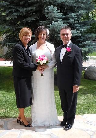 Memory Grove with my bride and groom. Salt Lake City