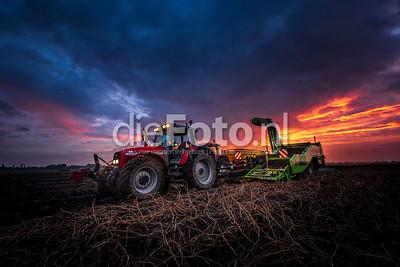 Fotograaf op bezoek bij Agrarisch bedrijf de Aardappelboer