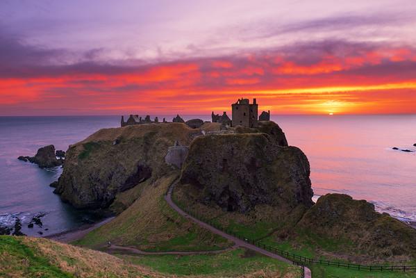Dunnottar Castle Sunrise