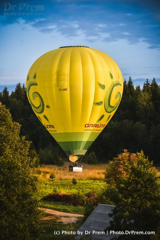 The Yellow And Happy Balloon Of Life