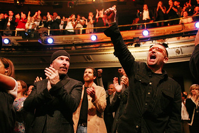 The Edge & BONO, NY