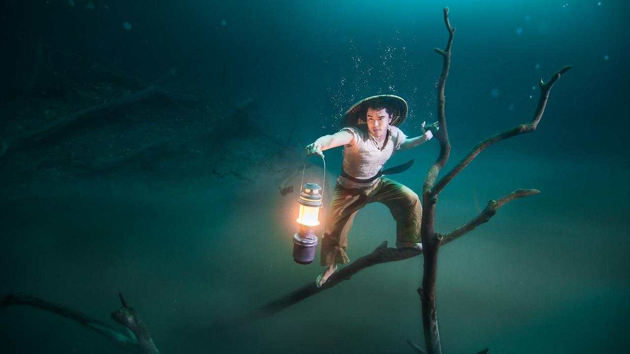 Underwater Fisherman  ft. Ballantines