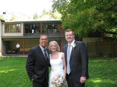 Log Haven wedding bells, Millcreek Canyon Utah