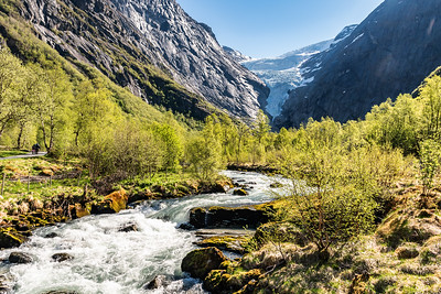The Briksdal Glacier National Park
