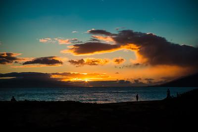 Sunset at Maui