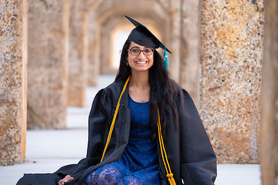 20190606 Himani Bhat Senior Cap and Gown 068Ed