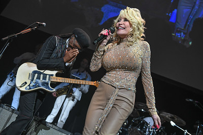Dolly Parton, Nile Rodgers, NY
