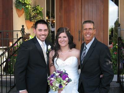 Wedding ceremony at Heritage Gardens Sandy Utah