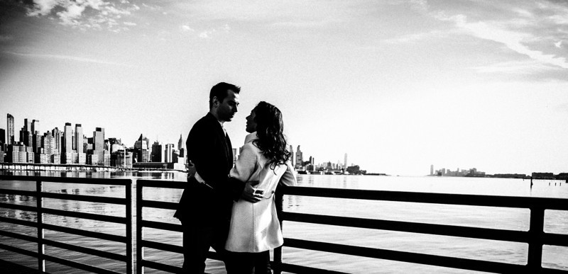 Edgewater, NJ Engagement
