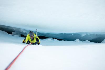 Serac Ice Climbing