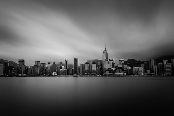 Hong Kong in BW