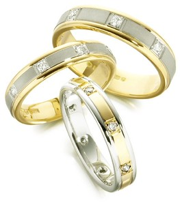magnificent  wedding rings with diamonds
