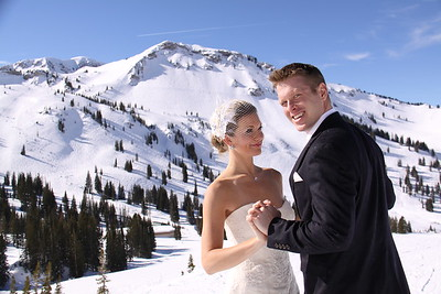 Stunning wedding at Alta Utah