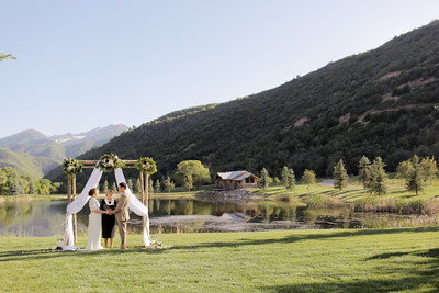 Beautiful ranch wedding.