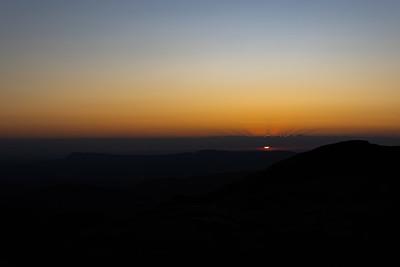 Sunset Under