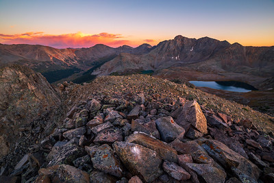 Collegiate Peaks Sunset
