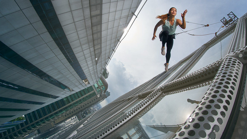 Benjamin Von Wong Viral Epic Photographer Visual Engineer And - Von wong gym shots