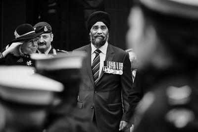 Harjit Sajjan, Minister of National Defence of Canada