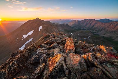Mt. Arkansas Sunset