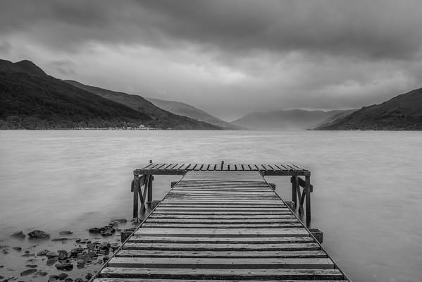Jetty, Loch Earn