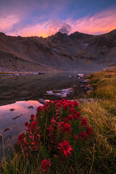 Queen's Crowns at an Unnamed Alpine Lake