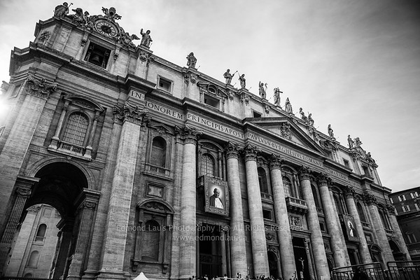 St. Peter's in Rome, BW