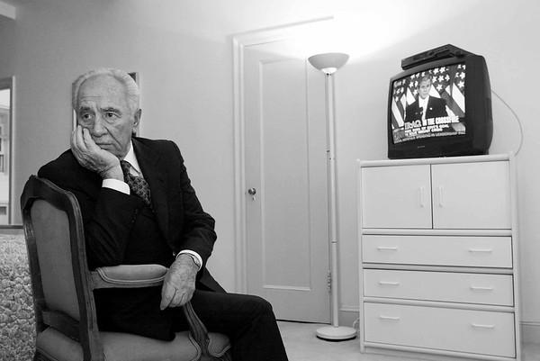 Shimon Peres, NY