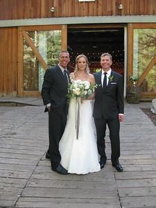 Newlyweds at Sundance Resort Utah