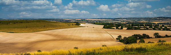 Panorama from Ivinghoe Beacon