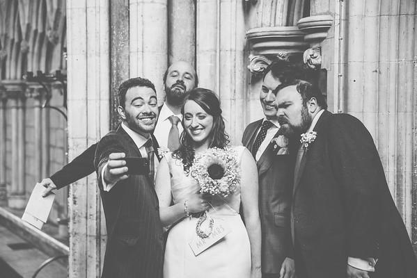 The Wedding of Abi & David.