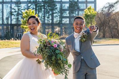 20190202 Taylor and Breona Moses Wedding Portraits