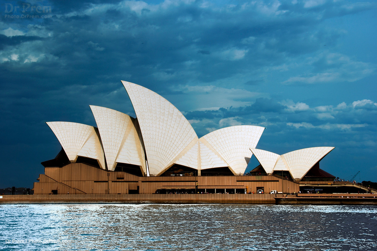 Sydney Opera House--Up Close And Personal With The Giant