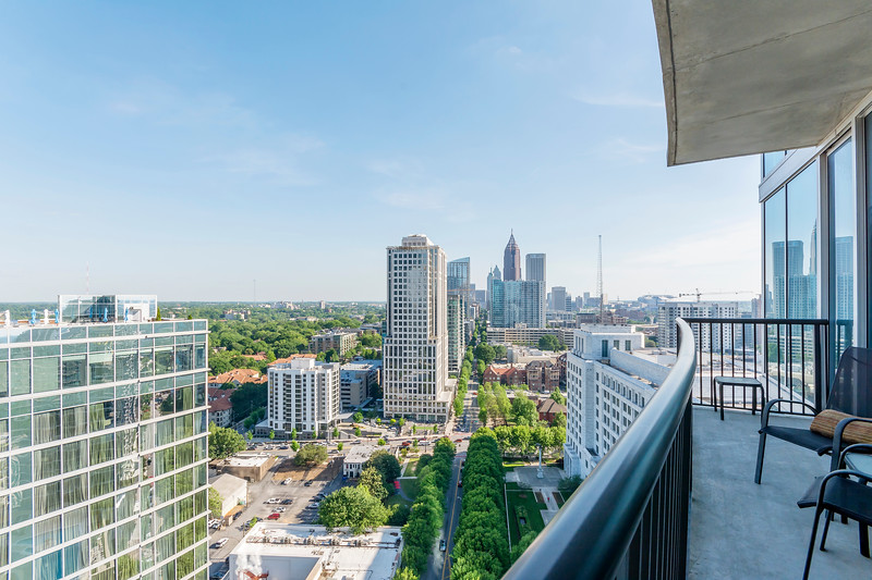 Atlanta, Ga (View of Midtown 10th St)