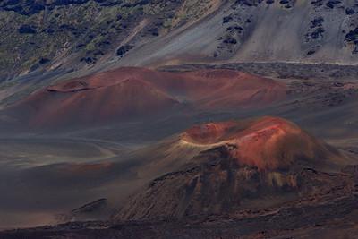 """""""Pu'u o Mäui"""" (Cinder cones Pu'u o Mäui and Ka Moa o Pele -- Haleakala National Park)"""