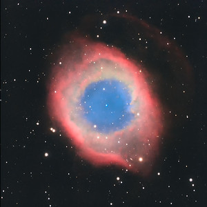 NGC 7293, the Helix Nebula in Aquarius