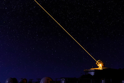 AEOS Telescope focusing laser