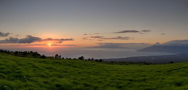 """Upcountry Sunset"""