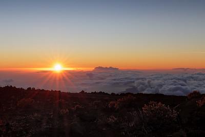 """Haleakala Sunset"""